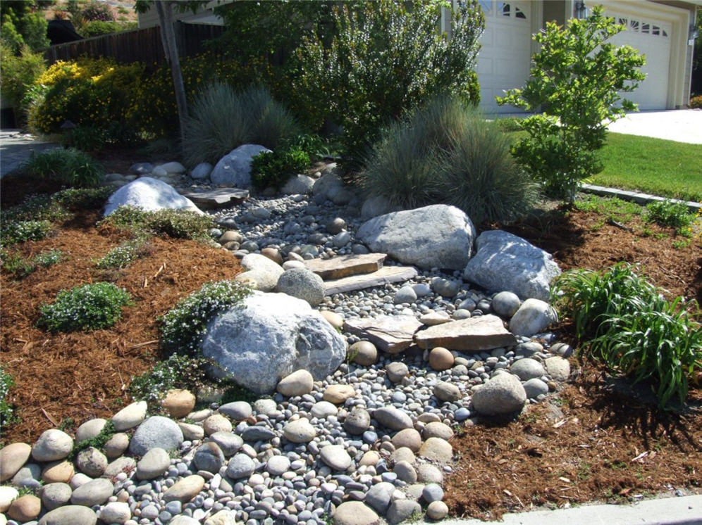 Boulder, Rock and Gravel Garden
